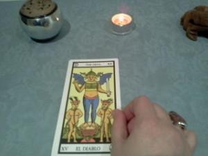 significado del diablo en una lectura de tarot