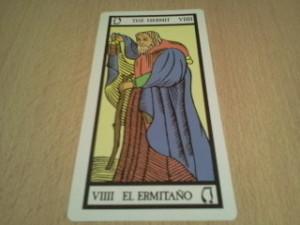 el ermitaño, arcano del tarot