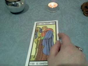 significado de El Ermitaño en el tarot