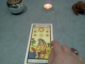 significado de la estrella en una lectura de tarot
