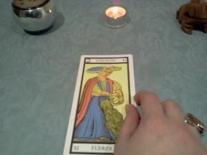 significado de La Fuerza en una lectura de tarot