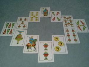 circulo baraja española tarot