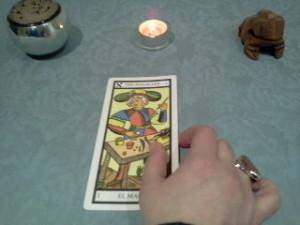 significado de El Mago en una lectura de tarot