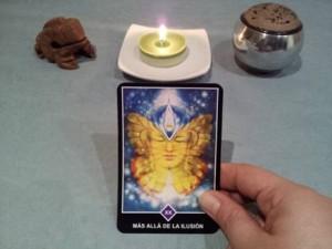 Significado de Más allá de la ilusión en una lectura de tarot Osho