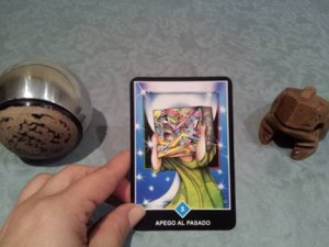 Significado de Apego al Pasado en una lectura de tarot Osho