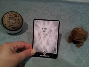Significado de Aislamiento en una lectura de tarot Osho