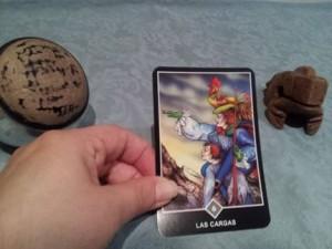 Significado de Las Cargas en una lectura de tarot Osho