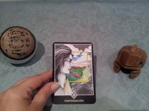 Significado de la Postergación en una lectura de tarot Osho