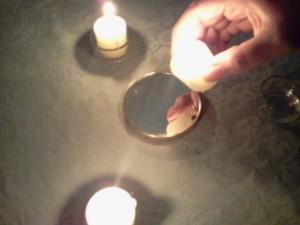 ritual de protección contra la magia negra completado