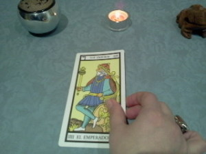 aprende a elegir las cartas del tarot
