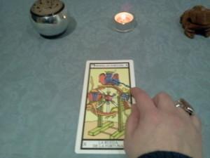 significado de la rueda de la fortuna en el tarot