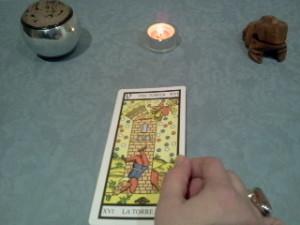 significado de la torre en una lectura de tarot