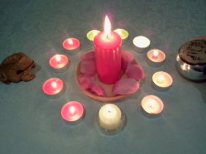 hechizo con velas