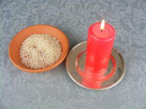 Hechizo con arroz para el amor