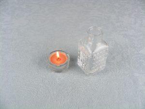 Hechizo con vela naranja