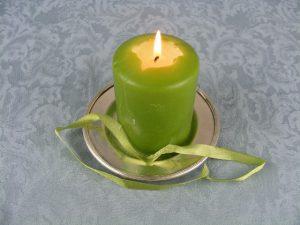 Hechizo con cinta verde